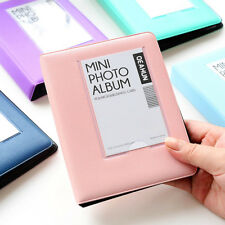 64 Pockets 3'' Mini Book Album Photo Name Card Case for Polaroid Instax Camera