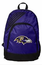 Baltimore Ravens BackPack Back Pack Book Sports Gym School Bag New Border Stripe