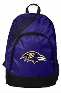 Baltimore Ravens BackPack Back Pack Book Sports Gym School Bag New Border Stripe