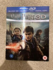 Harry Potter & The Deathly Hallows Part 2 3D Blu-Ray