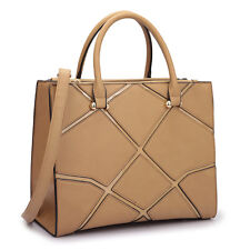 New Dasein Women's Handbags Faux Leather Satchel Tote Bag Briefcase Purse