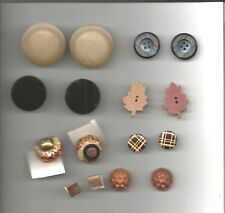 8 SETS  COLLECTIBLE BUTTONS LOT OF 16