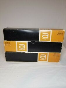 Lot of 3 Vintage Argus Projector Tray 80 Capacity Slide Magazine Spill Proof