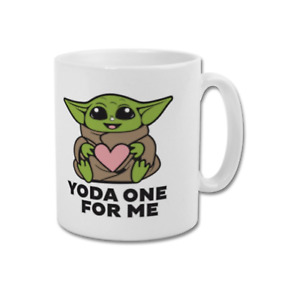 BABY YODA ONE FOR ME The Child Cute Coffee Mug Tea Cup Present Gift Idea Him Her