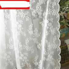 European Lace Sheer Curtains For Living Room Bedroom Window Tulle Drapes Serape
