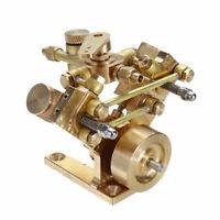 New Twin Cylinder Marine Steam Engine Model (M2B) Live Steam SPZ