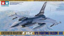 Tamiya 61101 1/48 Scale Model Kit ANG Air Guard F16C Block 32/52 Fighting Falcon