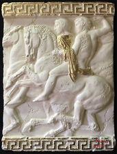 griechischer Wandrelief Relief 3d Mäander Bild Wandbild Skulptur Kunstharz