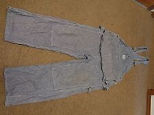 VTG SEARS HERCULES UNION MADE SANFORIZED OVERALLS 36X37 CARPENTER 40S RAILROAD