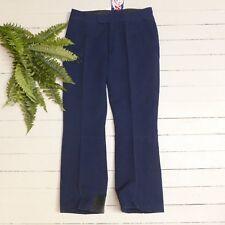 Vintage Roffe's Azul Marino Elástico Cuarta Esquí Nieve Pantalones Talla 36