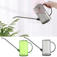 Stainless Steel 1L Long Spout Month Watering Can Pot Garden Flower Plants Kettle