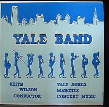 KEITH WILSON yale university band LP VG+ H8 OP 4960 Vinyl William Anthony Record