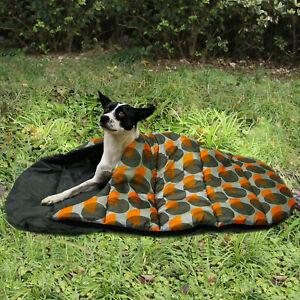 Pet Dog Nest Waterproof Camping Bed Warm Cave Folding Travel Sleeping Bag Mat