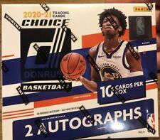 2020-21 20-21 PANINI DONRUSS Baloncesto NBA Caja Sellada 2 CHOICE Autos