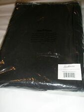 Vintage Tablecloth 90 x 132 Rectangular Black Polyester Unopened