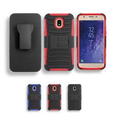 For Boost Mobile Samsung Galaxy J7 Refine/J737 Holster Belt Clip Cover Case