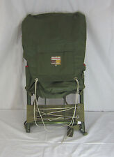 Vintage Hiking Back Pack External Metal Frame Green  Morsan Inc Japan