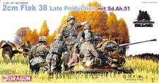 Dragon DML 1:35 2cm Flak 38 Late Production mit Sd.Ah.51 Plastic Model Kit #6546