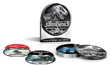 Jurassic World 3D Blu-ray/Bluray/DVD/digital Limited Edition Metal Tin SEALED