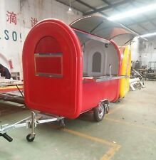 Brand New Concession Stand Trailer Mobile Kitchen Shipping By Sea To Your Port