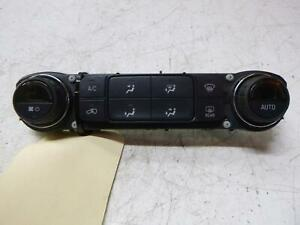 HOLDEN COLORADO HEATER/AC CONTROLS CLIMATE CONTROL TYPE, RG, 07/16- 16 17 18 19