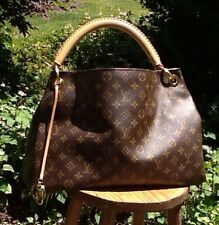 Authentic Louis Vuitton Leather Artsy MM Monogram  Hobo Shoulder Tote Bag LV EUC
