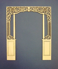 """Dollhouse Miniature 1:12 Scale Room Divider 8"""" ceiling"""