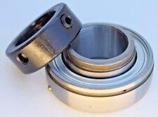 """Premium New SA207-22G Insert Bearing 1-3/8""""  Bore w/Locking Collar Re-Lube Type"""