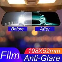 Universal Car Interior Rearview Mirror Anti Glare Film Scratchprof Protective