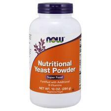 NOW Foods Nutritional Yeast Powder Rich in B Vitamins SUPER FOOD - 10 oz