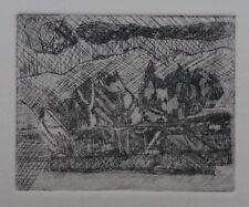 "Vintage /""TAOS CANYON N M./"" by Wm Brigl  1950s print"