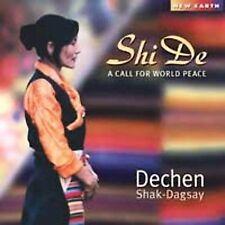 FREE US SHIP. on ANY 2 CDs! ~LikeNew CD Dechen Shak-Dagsay: Shi De: A Call for W