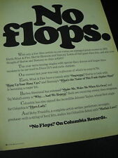 EARTH WIND & FIRE others NO FLOPS 1976 Promo Poster Ad