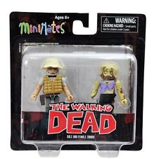 THE WALKING DEAD DALE & FEMALE ZOMBIE MINIMATES BRAND NEW MINI FIGURE