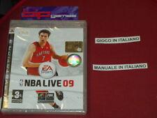 NBA LIVE 09 PS3 PLAYSTATION 3 PAL NUOVO SIGILLATO