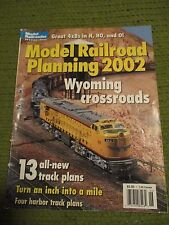 Vintage 2002 MODEL RAILROAD PLANNING 98pgs 265