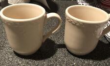 Longaberger Pottery American Home Usa 2-Pottery Mug, Euc
