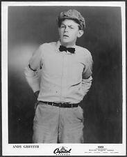 ~ Andy Griffith Original 1950s Capitol Records Promo Portrait Press Photo