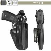 Fondina Vega Holster cuoio FT100 per berett 92 98 serie FT1 professionale cinta