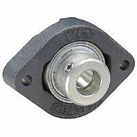 FLCTE15 2-Bolt Flange Bearing w/ Ball Bearing Insert 15mm Bore Dia. 035373051755