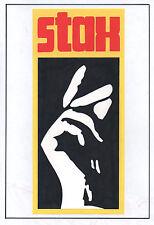 STAX RECORDS POSTER. Soul, R'n'B.