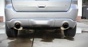 "Corsa 2.5"" Stainless Catback Exhaust w/Black Tips Durango Fits 5.7L 2011-2020"