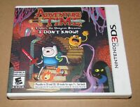 Adventure Time: Explore the Dungeon Because I Don't Know! (Nintendo 3DS) New