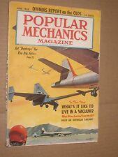 1958 Popular Mechanics Magazine June issue Jet Donkeys for the Big Jets planes