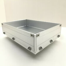 Para Tamiya 1/14 56360 RC camión remolque de Aleación de Aluminio CNC Metal Cubo Contenedor