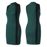 adidas Originals EQT ADV Dress Kleid Strickkleid Rippstrick Equipment Grün NEU