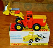 Vintage Dinky 973 Eaton Yale Articulated Tractor Shovel with Original Box; NMC
