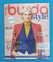 Burda Style 10/2019 mit unbenutztem Schnittmuster !!!   ungelesen 1A absolut TOP