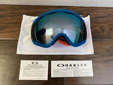 Oakley Canopy Orange Blue Prizm Sapphire Iridium Ski Snow Snowboard Goggles
