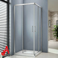 900x900x1900mm Square Corner Sliding Shower Screen Enclosure Cubical